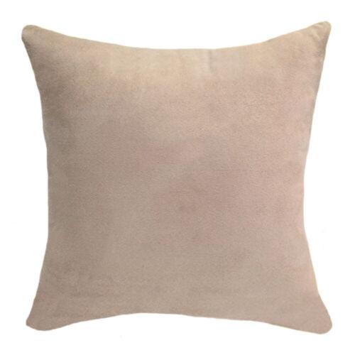 Multi Color Large Cushion Cover Soft Pillow Case Office Home Car Sofa Decor