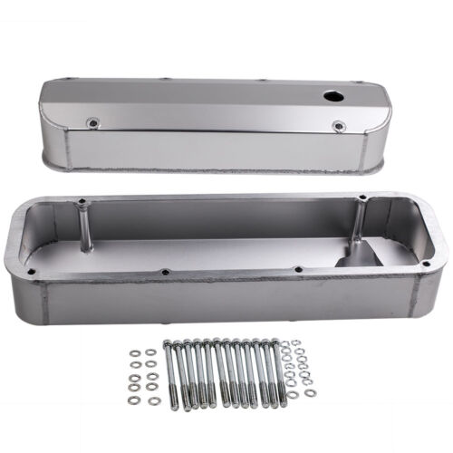 Fabricated Aluminum For Ford Big Block Tall Valve Covers V8 429-460 BBF /& Bolts