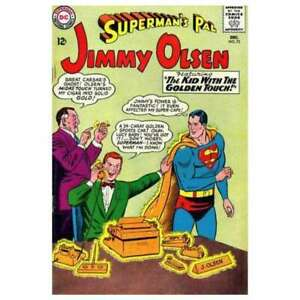 Superman-039-s-Pal-Jimmy-Olsen-1954-series-73-in-VG-condition-DC-comics-9u