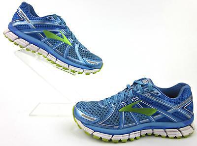 Brooks Adrenaline GTS 17 Azure Blue Lime Running Shoes Sneakers Women/'s 6.5 B