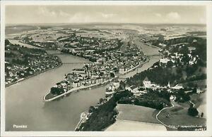 Ansichtskarte Passau Orig. Fliegeraufnahme   (Nr.9062)