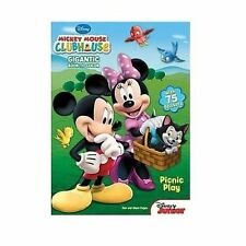 Mickey Mouse Clubhouse: Picnic Play  Gigantic Book to Color with 75 Stickers