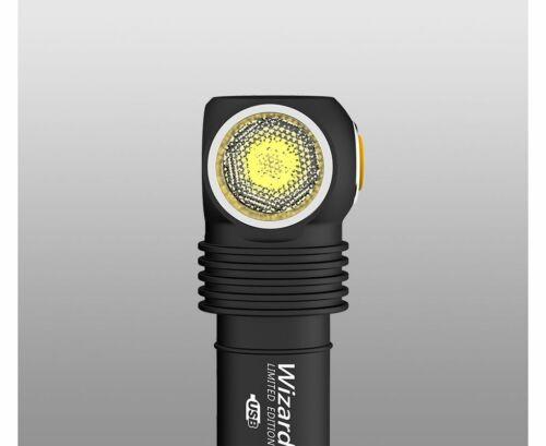 NO Battery New Armytek Wizard Pro Nichia CRI Magnet USB 1400Lumen LED Headlight