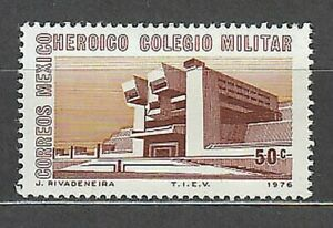 Mexico - Mail 1976 Yvert 831 MNH School Military