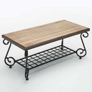 image is loading coffee sofa table 48 034 x 24 034 - Metal Frame Coffee Table