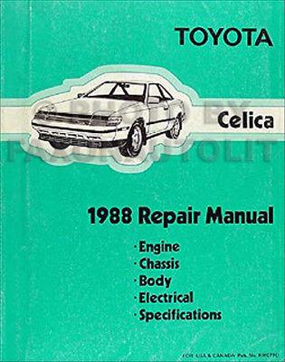 1988 Subaru Justy Shop Manual Original OEM Repair Service Book DL GL RS