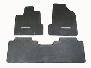 Genuine Honda Oem Ridgeline Dark Gray Carpet Floor Mats 83600 Sjc A11zb Ebay