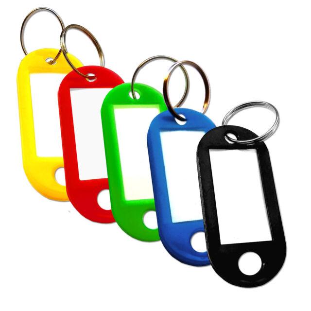 Schlüsselschilder zum Beschriften Schlüsselanhänger XL  DUNKELBLAU