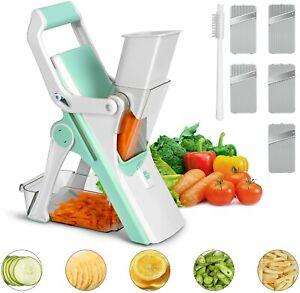 Safe Manual Mandolin Slicer Kitchen Tool for Cutting Fruit Chips Meat Vegetable