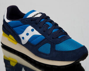 Saucony-Shadow-Original-Vintage-Mens-Navy-Blue-Casual-Lifestyle-Shoes-S70424-7