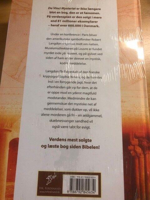 Da Vinci Mysteriet, Dan Broen, genre: krimi og spænding