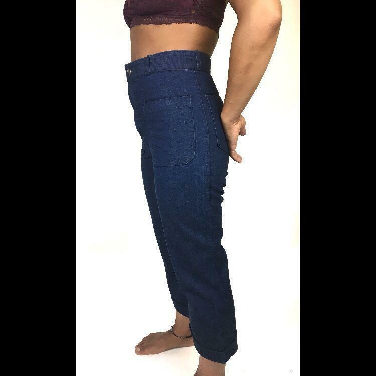 Vintage Sailor Jeans Pinup 70s 60s - image 2