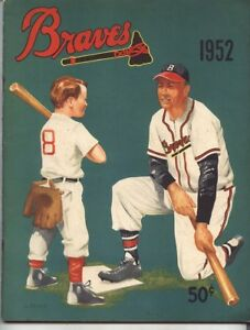 Image Is Loading 1952 BOSTON BRAVES Yearbook Excellent