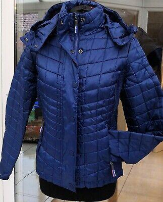Womens Superdry Hooded Box Quilt Fuji Jacket Coat rrp £90