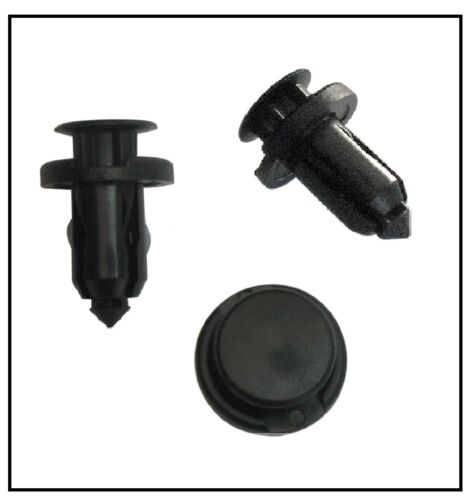 PLASTIC BUMPER TRIM CLIPS for SUBARU 10mm Hole