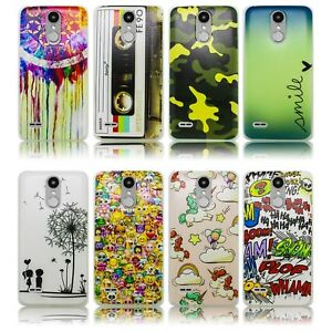 LG-Mobile-K4-2017-Silikon-Smartphone-Handy-Huelle-Tasche-Schutzhuelle-Case