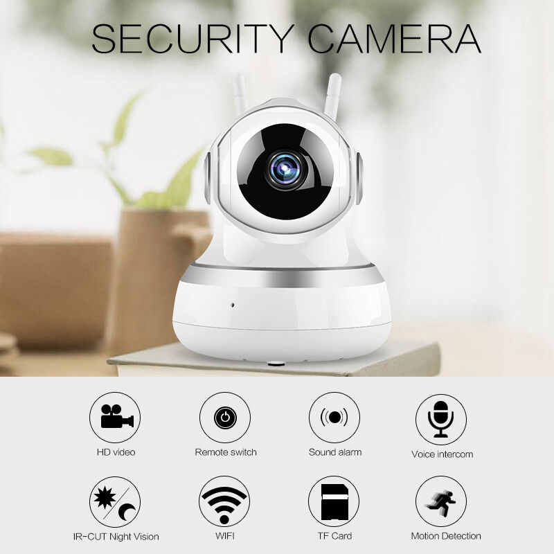 Home Security 1080P HD IP Camera Wireless Smart WI-FI Audio CCTV Camera Webcam 1