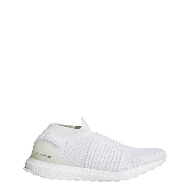 8e9e8a2b39bfd adidas Mens ULTRABOOST LACELESS White White White - BB6146