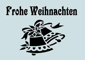 Schablone-Frohe-Weihnacht-A4-fuer-Stoffe-Moebel-Torten-usw-Nr-732