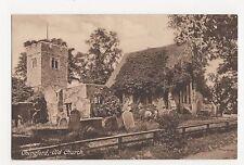 Essex, Chingford Old Church Postcard, A845