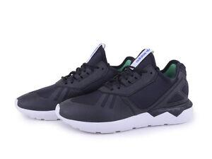 Adidas Tubular Running Shoes B23657 Black White Youth Women's ALL SIZES NEW