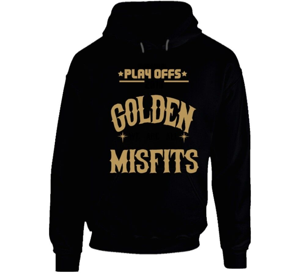Inaugural Playoffs We Are All Golden Misfits Hoodie