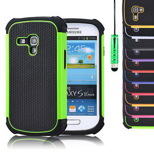 SHOCK-PROOF-CASE-COVER-FOR-SAMSUNG-GALAXY-S4-S3-MINI-SCREEN-GUARD-amp-STYLUS