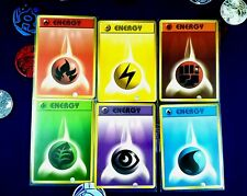 BASE ENERGY MEGA-SET 400x BASIC ENERGY CARDS 50X OF EVERY TYPE Pokemon TCG