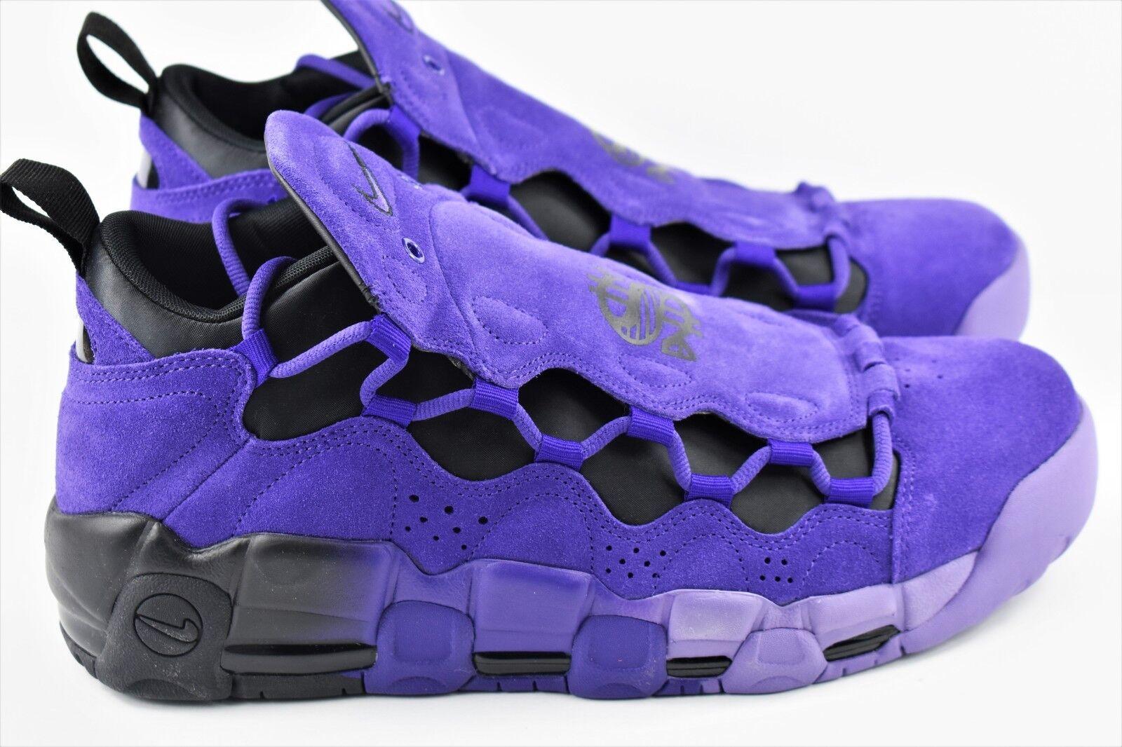 Nike Air More Money QS PRPL Mens Multi Size shoes Court Purple AQ2177 500