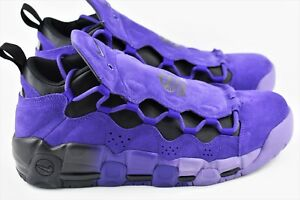 96b3276e1 Nike Air More Money QS PRPL Mens Multi Size Shoes Court Purple ...