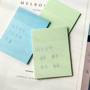 Transparent 50 Sheets Memo Sticky Note Paper Daily Do To It List Check X3V4