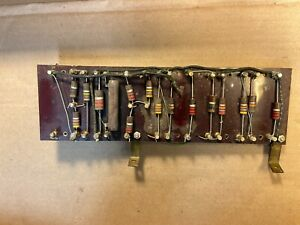 Vintage-Turret-Board-w-28-Terminals-for-Mounting-9-034-x-2-75-034-for-Amp