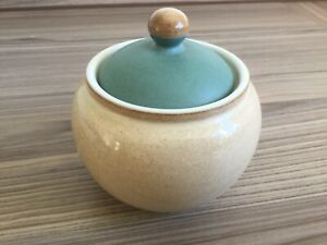 Denby-Luxor-Sugar-bowl-With-Lid-first-quality