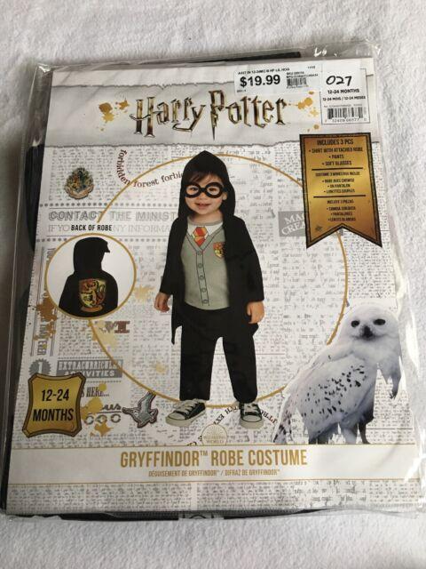 Harry Potter Hogwarts Gryffindor Wizard Costume Baby Robe ...