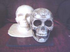 Aztec Skull Mold Latex/Rubber for Plaster/Concrete