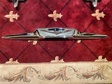 New Listing1958 Chevrolet Truck V8 Hood Emblem Show Chrome Pn 3743545 Cameo