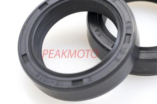 K/&S Technologies 16-1045 Fork Oil Seal 43mm x 55mm x 9.5mm PAIR