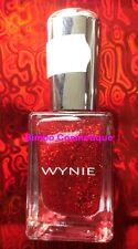 1 Vernis à Ongles WYNIE Collection PAILLETTE Pailleté 311 Rouge