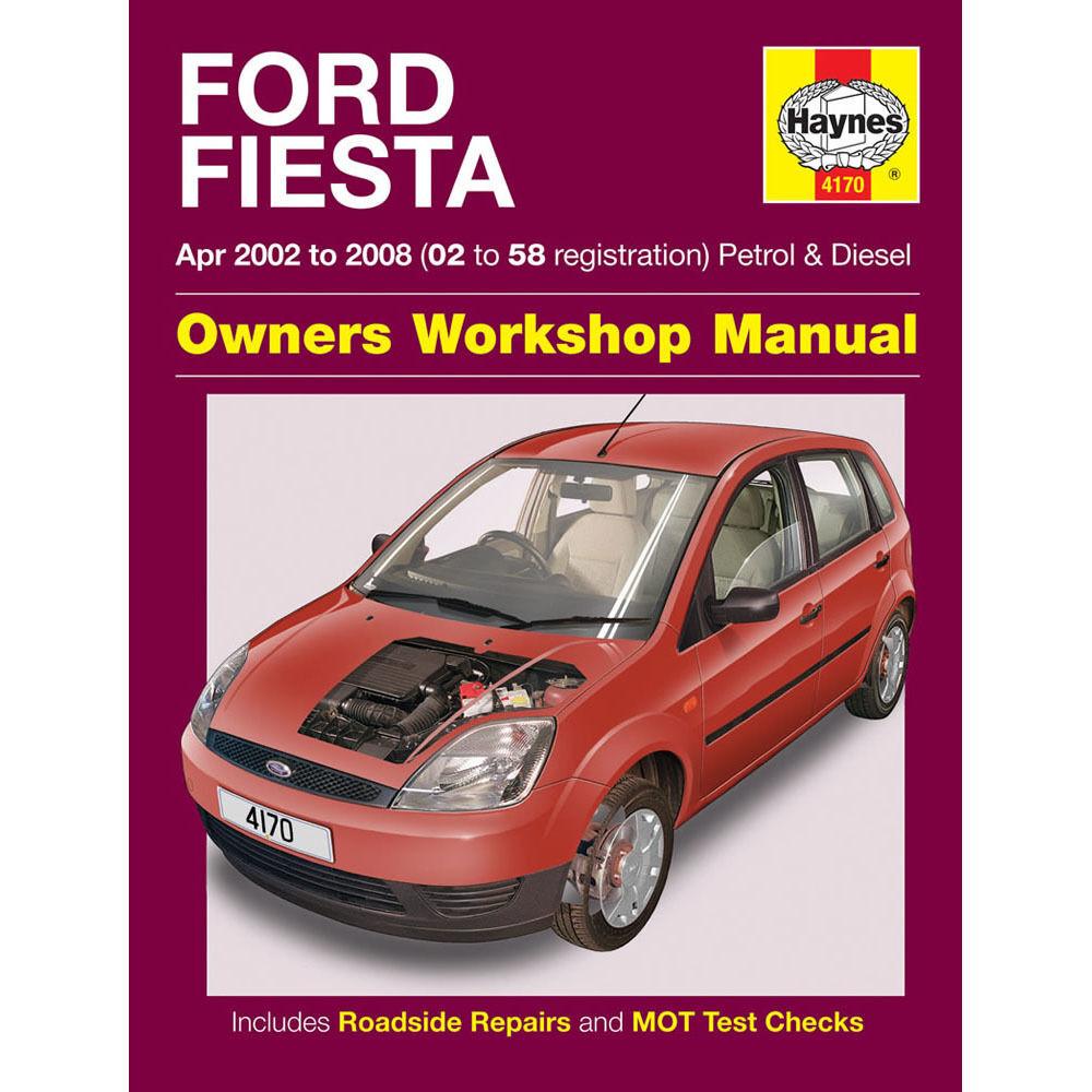 Haynes Workshop Manual Ford Fiesta Petrol Diesel 2008-2012 Repair ...