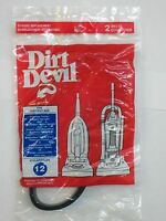 2 Royal Dirt Devil Style 12 Vacuum Belts Platinum Force Ultra Vision Turbo