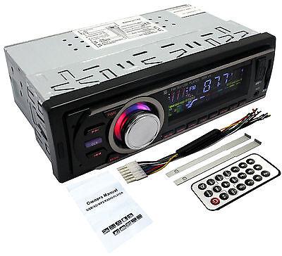 Car Audio Stereo Headunit Radio Player MP3/USB/SD/AUX-IN/FM/IPod/iPhone Non CD