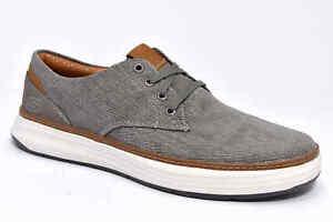 on sale a615e cc4dd Dettagli su SKECHERS 65981 TPE TAUPE Grigio Scarpe Estive Sneaker Uomo  Memory Foam Tessuto