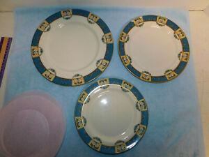 3-Lenox-Tremont-Dinnerware-Plates-10-5-034-9-034-8-1-4-034-Excellent-Cond