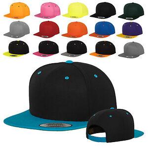 ORIGINALE-Flexfit-Snapback-Cap-Baseball-Berretto-Cappuccio-Snap-Back-OSFA-6089