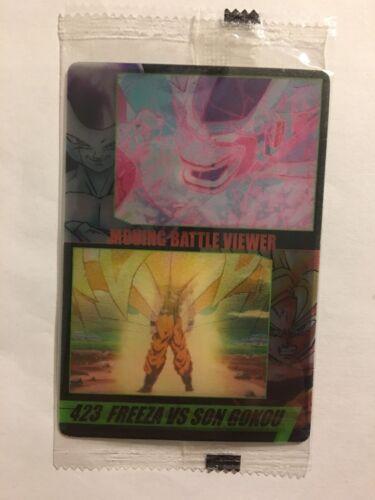 New//Neuf Dragon Ball Z Morinaga Wafer Card 423 3D Moving