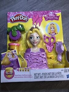 Play Doh Disney Princess Rapunzel Pascal Hair Style Salon Design Kit Girls 3 Ebay