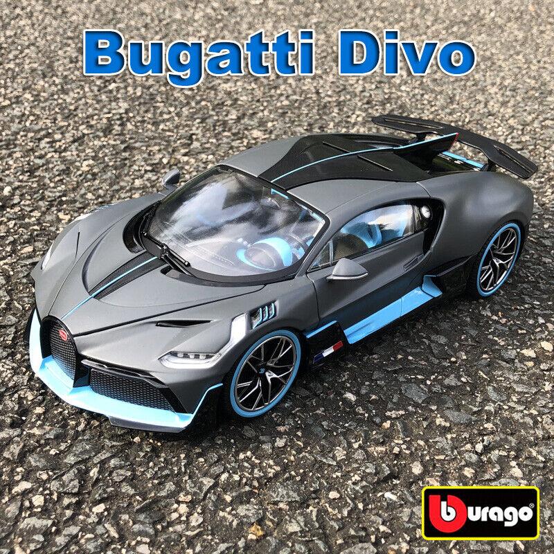 Bugatti Divo Bburago 1:18 Scale Diecast Model Car Roadster Toys & Collection