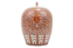 Beautiful-Orange-And-White-Twisted-Lotus-Porcelain-Ginger-Jar-12-034