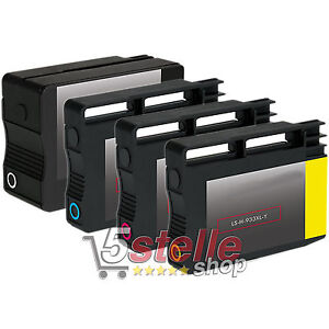 KIT-4-CARTUCCE-932-933-XL-PER-STAMPANTE-HP-OFFICEJET-7510A-All-in-One