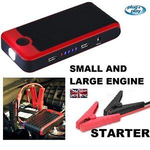 Camper-Motorhome-Car-Jump-Starter-upto-3-5L-Engine-2x-USB-Charger-Self-Build